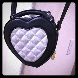 LUV BETSEY BY Betsey Johnson Heart crossbody bag